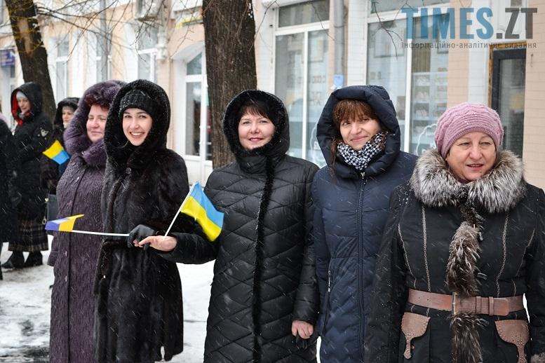 DSC 0694 edited 1 - Житомиряни зібралися на Михайлівській і взялися за руки. Вгадайте, чому?