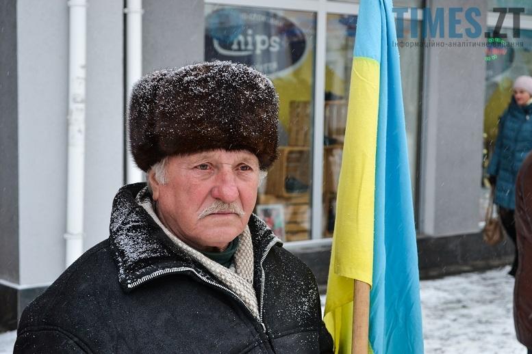 DSC 0723 edited - Житомиряни зібралися на Михайлівській і взялися за руки. Вгадайте, чому?