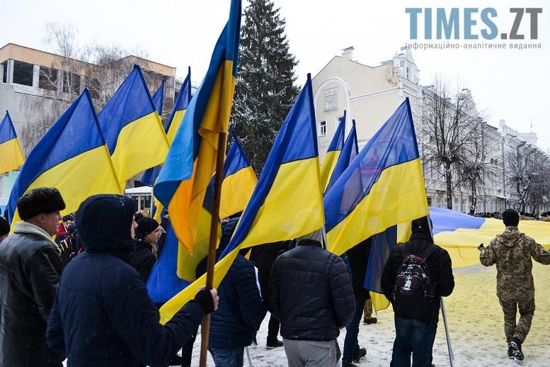DSC 0732 edited - Житомиряни зібралися на Михайлівській і взялися за руки. Вгадайте, чому?
