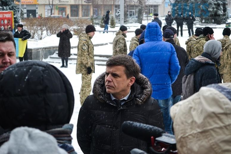 День соборності України. Мер міста Сухомлін