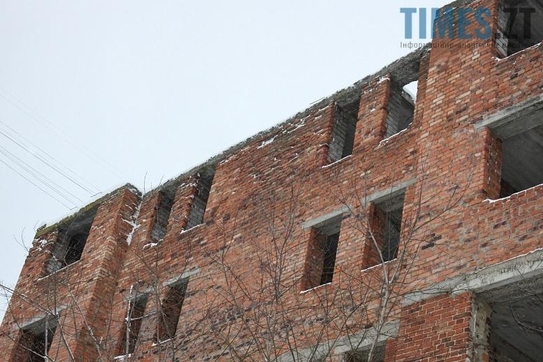 Занедбана будівля. Житомир, Богунія