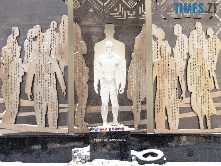 IMG 6549 - Шокуюче відео: недоумки трощать останню льодову скульптуру у Житомирі