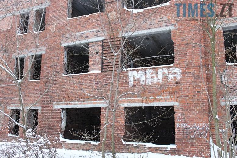Занедбані будівлі у Житомирі