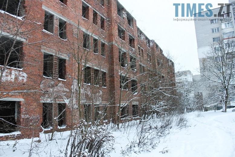 Незакінчене будівництво у Житомирі