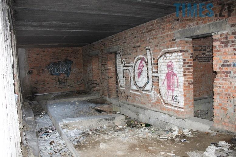 Занедбані будинки Житомира