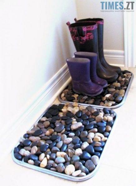 Зимові лайфхаки - піднос для взуття | TIMES.ZT