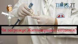Епідемія кору в Житомирі
