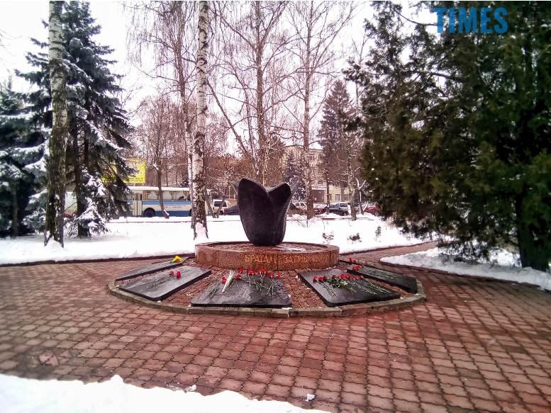 1 11 - Новим бульваром Житомира проїхала самохідна гармата «Нона-СВК» (фото, відео)