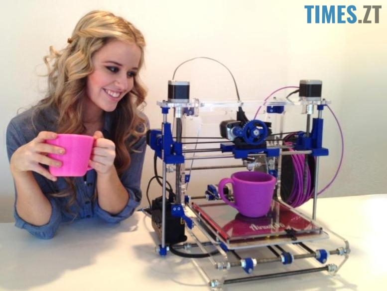 3d-принтер друкуэ чашку | TIMES.ZT