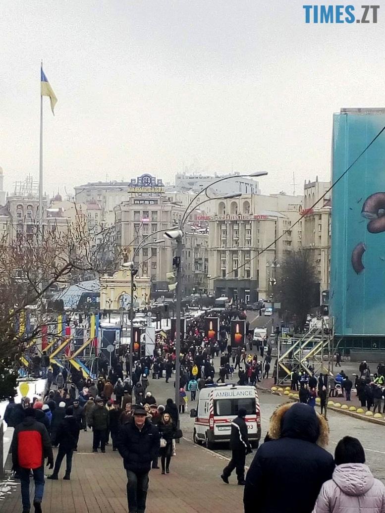 19 - 18 лютого у Києві: Майдан, Хрещатик, Інститутська, Грушевського