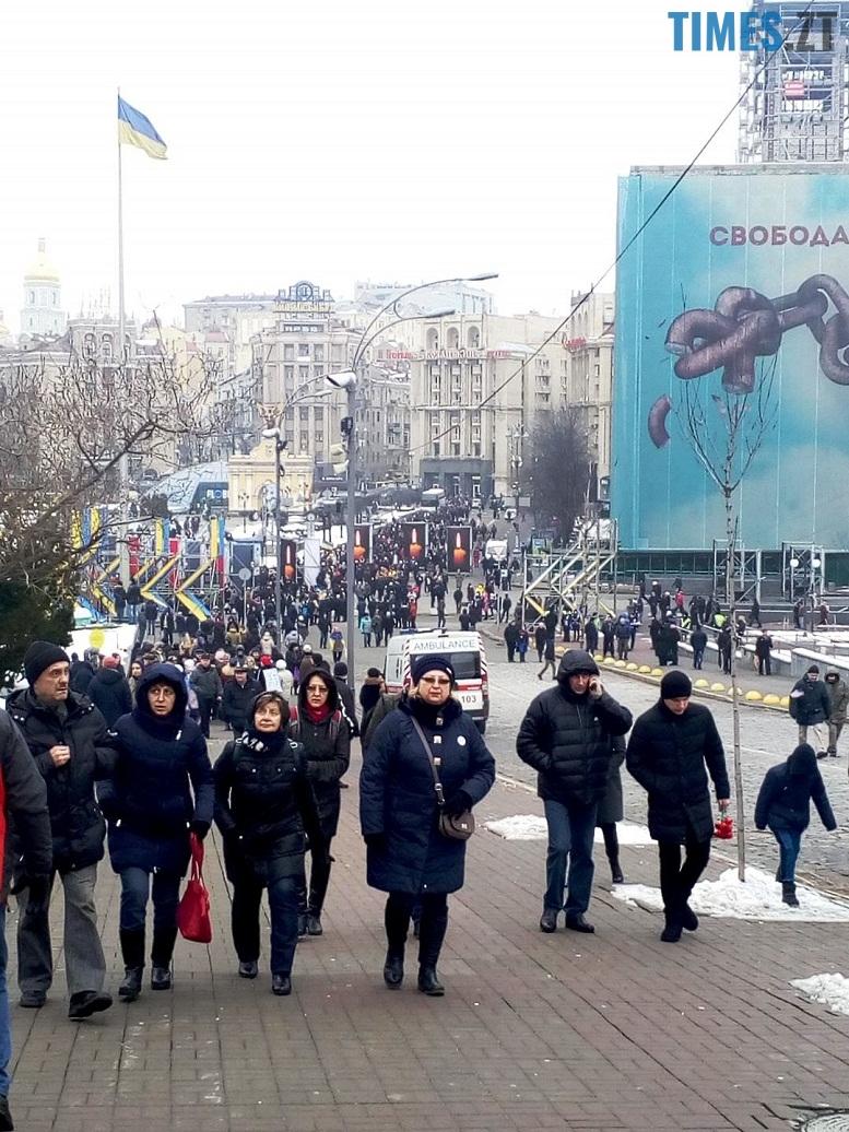 2 13 - 18 лютого у Києві: Майдан, Хрещатик, Інститутська, Грушевського