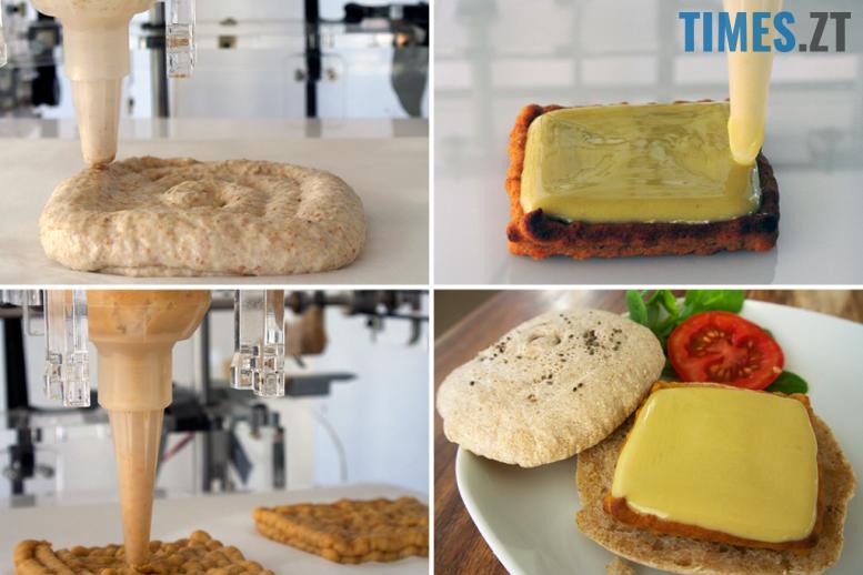 Харчові 3D-принтери | TIMES.ZT