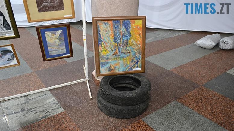 13 1 - У Житомирі спробували відтворити київський Майдан