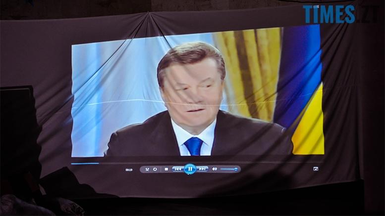 2 3 - У Житомирі спробували відтворити київський Майдан