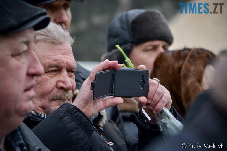 DSC 0300 Копировать - Новим бульваром Житомира проїхала самохідна гармата «Нона-СВК» (фото, відео)