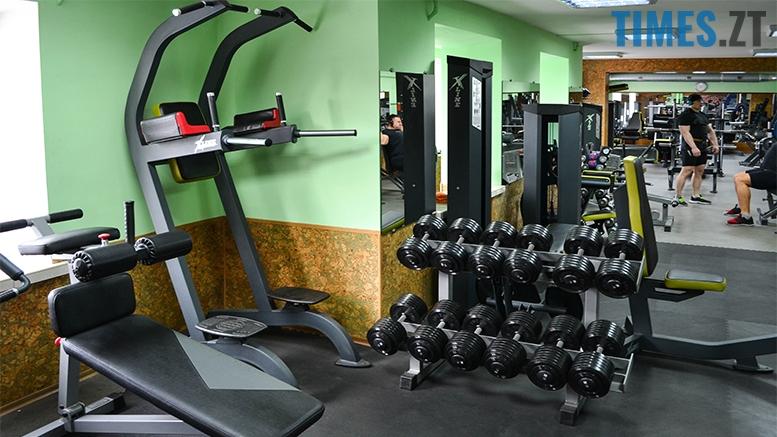 Житомир. Тренажерна зала Hercules - знаряддя | TIMES.ZT