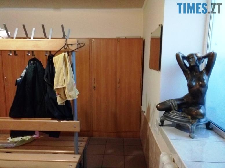 Житомир. Тренажерна зала Hercules - роздягальня | TIMES.ZT
