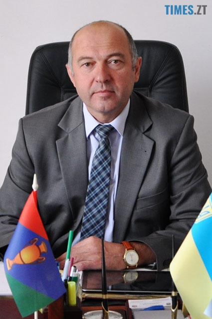 Голова Баранівської ОТГ Анатолій Олександрович Душко    TIMES.ZT