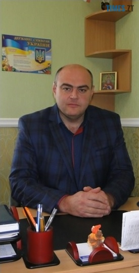 Голова Хорошівської ОТГ  Володимир Володимирович  Столярчук    TIMES.ZT
