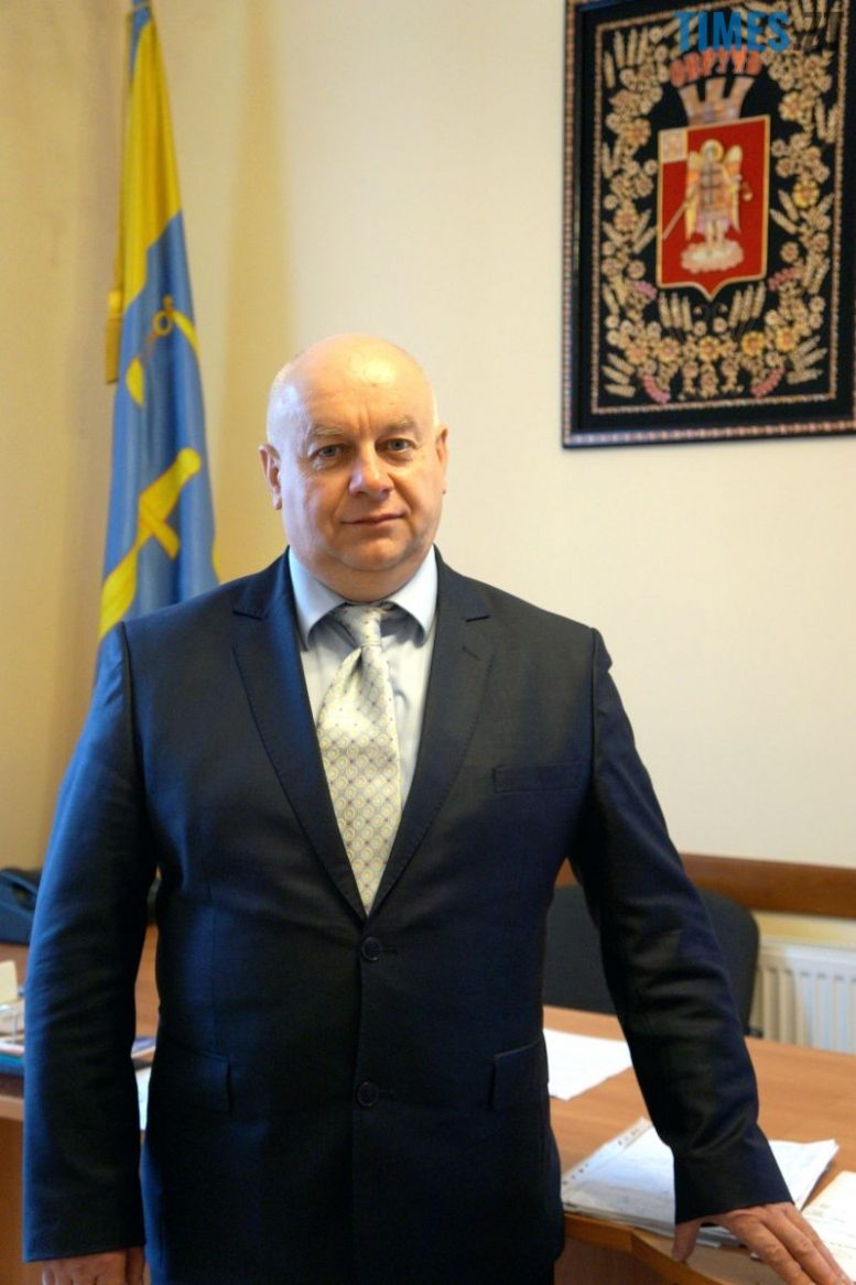 Міський голова Овруча Іван Ярославович Кордун    TIMES.ZT