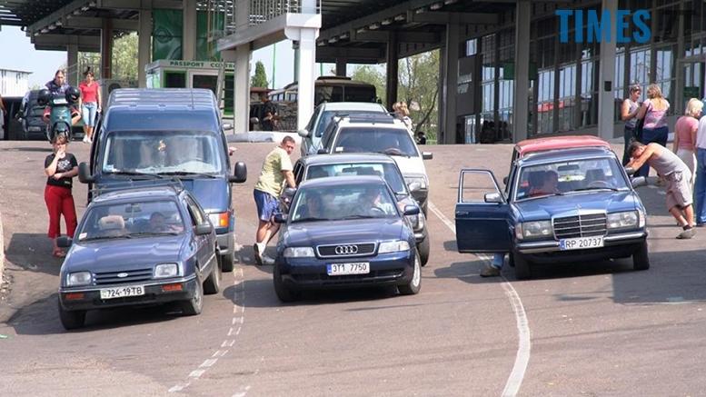 Єврономера. Автомобілі з литовськими і польськими номерами. Протест  | TIMES.ZT