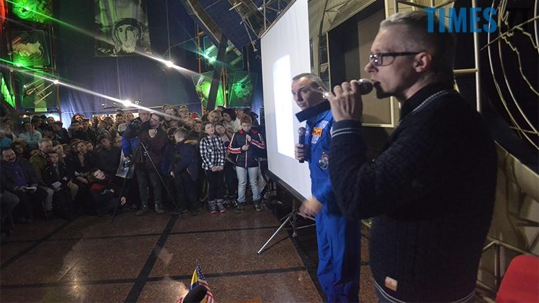 имени 11 1 - «Х'юстон, у нас проблеми!» Американський астронавт у Житомирі (відео, фото)
