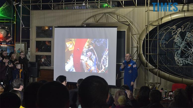 имени 6 1 - «Х'юстон, у нас проблеми!» Американський астронавт у Житомирі (відео, фото)