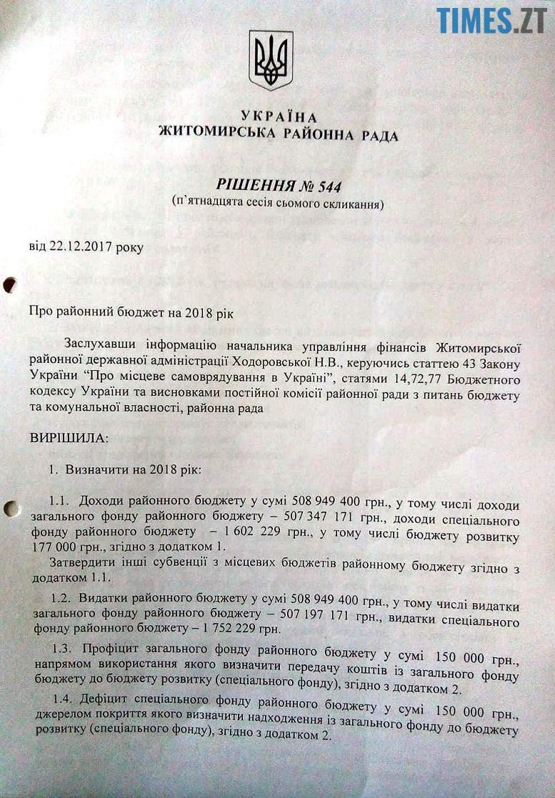 2 - Скандал: бюджет Житомирського району «годує» фіктивні спортивні гуртки