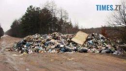 2 260x146 - Львівські сміттєві пірати догралися: жителі Олевщини обіцяють палити їхні машини