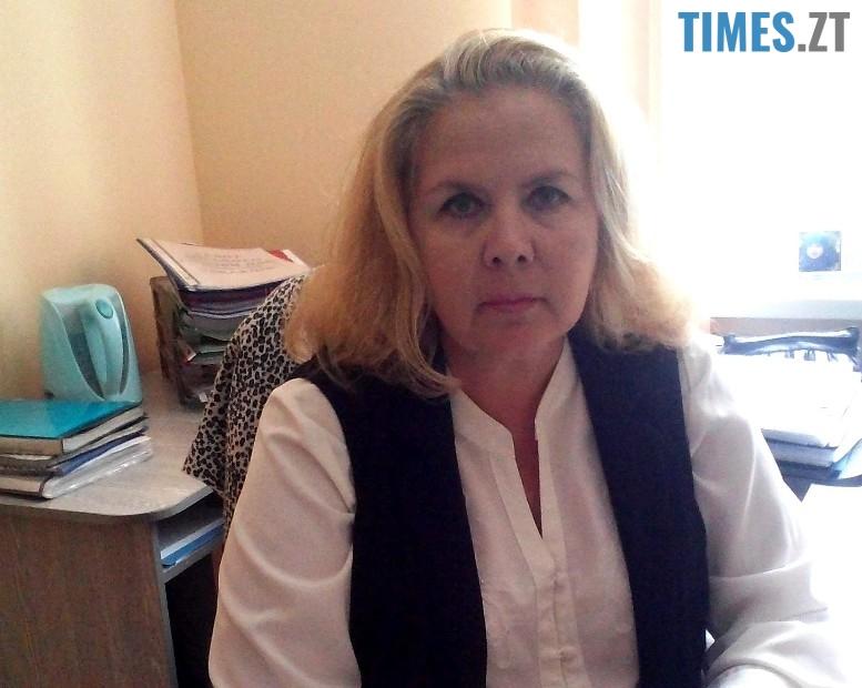 Ольга Єрмакова, головний спеціаліст управління освіти Житомирської міської ради   TIMES.ZT