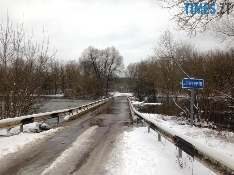 3 13 - Житомирщину накриває повінню. Тетерів затопив міст у Харитонівці (відео, фото)