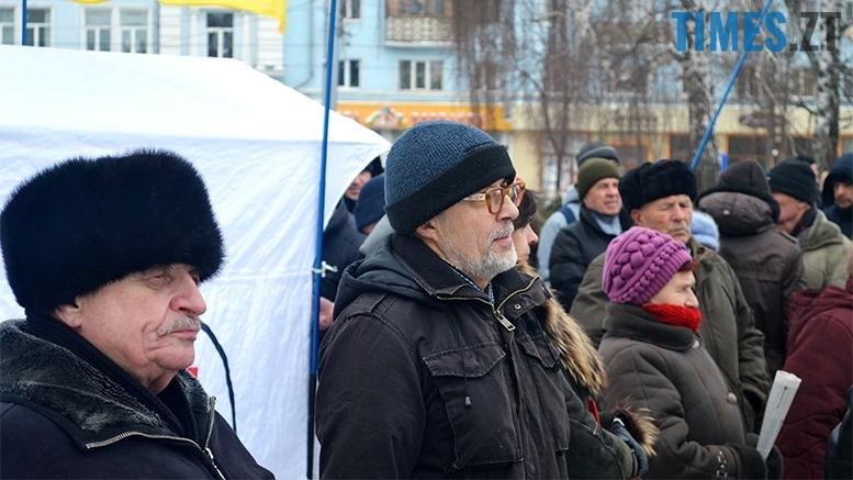 13 1 - «Путін – злочинець! Порошенку – імпічмент!» Мітинг у Житомирі