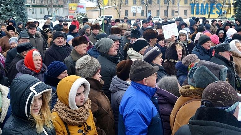 14 - «Путін – злочинець! Порошенку – імпічмент!» Мітинг у Житомирі