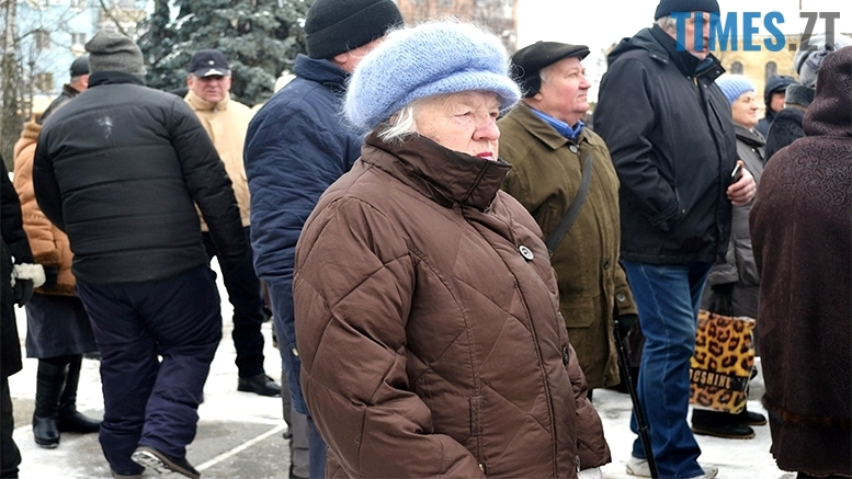 19 - «Путін – злочинець! Порошенку – імпічмент!» Мітинг у Житомирі