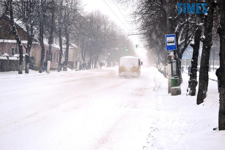 DSC 1717 - Перший день весни. Житомир засипає снігом. З лопатами тільки жінки