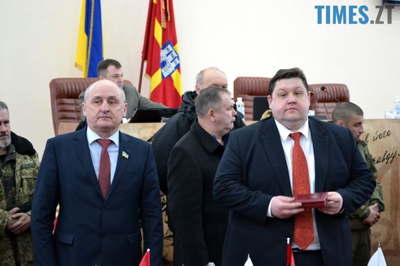 DSC 1744 - Житомирська облрада прирівняла партійний прапор ОУН(б) до державного