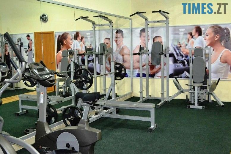 Тренажерний зал Fitness City - обладнання | TIMES.ZT
