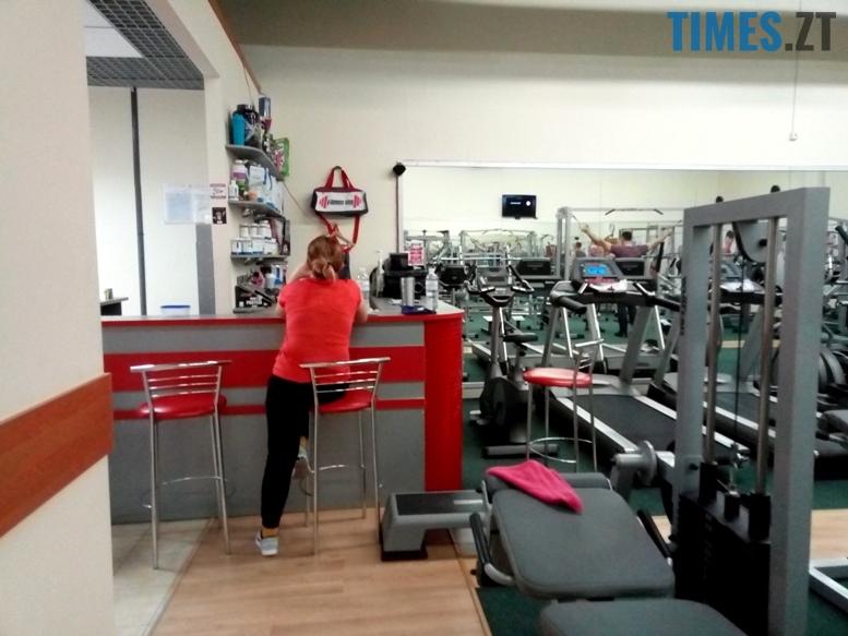 Тренажерний зал Fitness City - ресепшн | TIMES.ZT