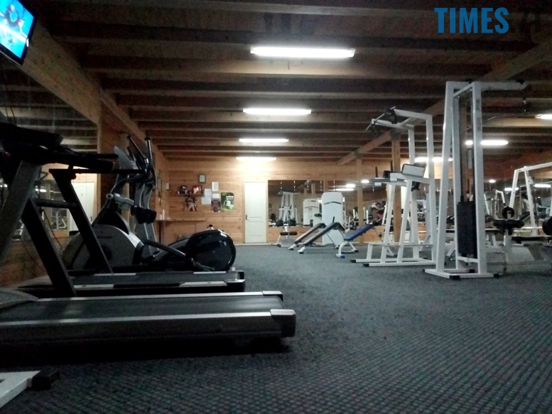 Тренажерний зал Muscle Hulk - всередині | TIMES.ZT