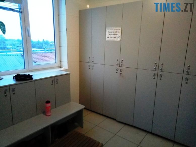 Тренажерний зал Muscle Hulk - роздягальня | TIMES.ZT