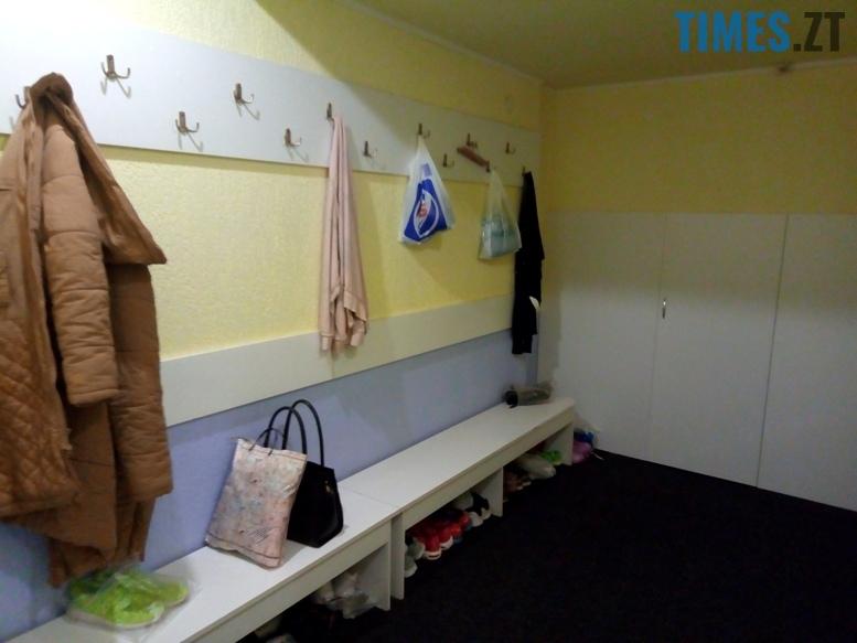 Тренажерний зал NRG - роздягальня | TIMES.ZT