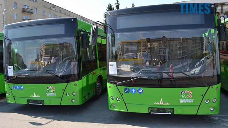 имени 16 1 - Зубко і Сухомлин помацали застарілі автобуси з ворожої держави