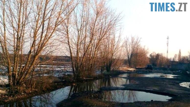 2 - «Дорога смерті» з ямами-басейнами у Коростишівському районі