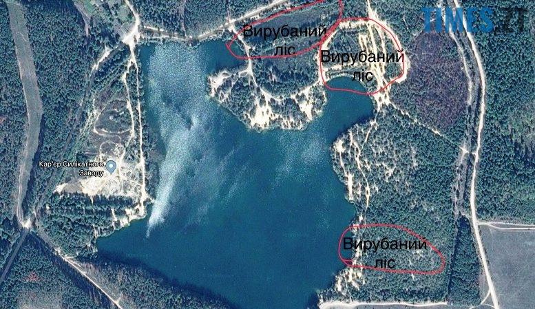 1 18 - Пустеля під Коростишевом: чиновники та гендлярі нищать ліс заради піску (фото, відео)