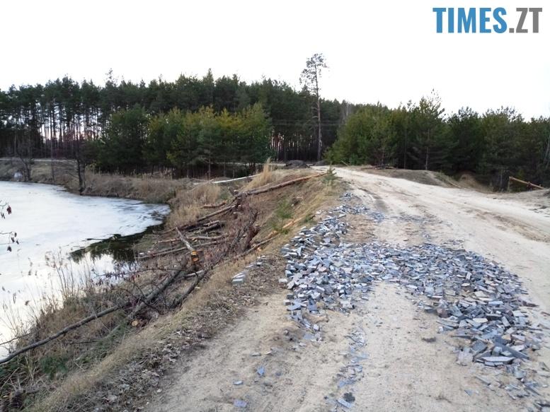 11 3 - Пустеля під Коростишевом: чиновники та гендлярі нищать ліс заради піску (фото, відео)