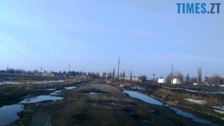 6 - «Дорога смерті» з ямами-басейнами у Коростишівському районі