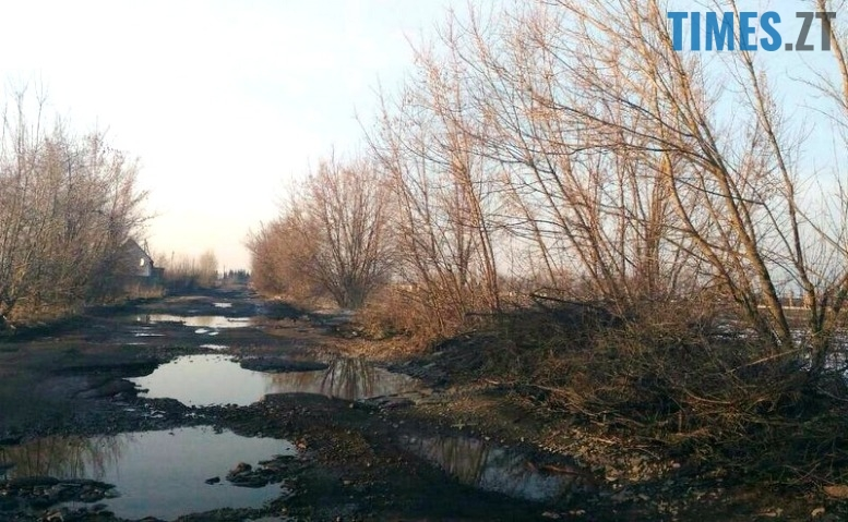 9 - «Дорога смерті» з ямами-басейнами у Коростишівському районі