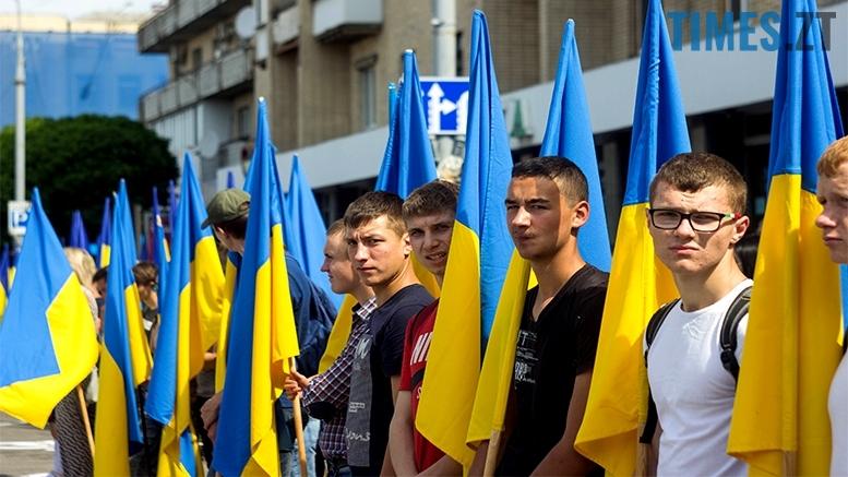 имени 14 1 - Житомиряни зустріли героїв, які повернулися із зони бойових дій
