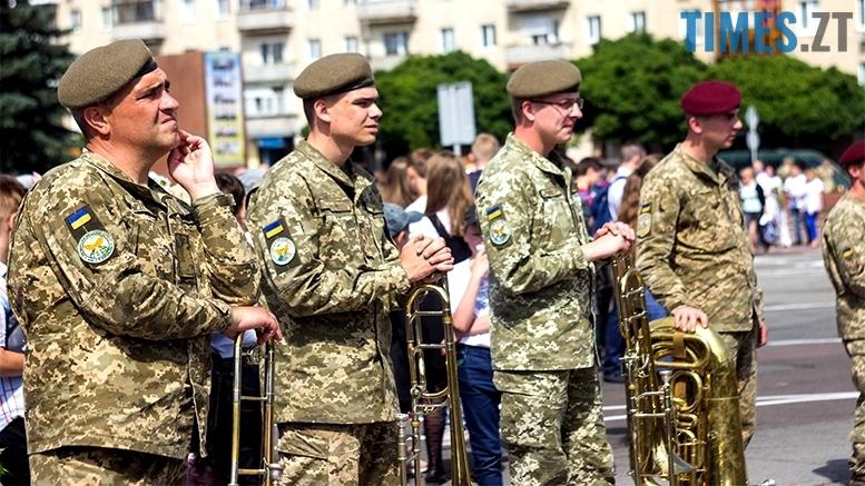 имени 19 1 - Житомиряни зустріли героїв, які повернулися із зони бойових дій