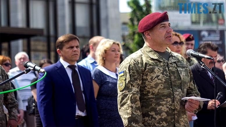 имени 22 1 - Житомиряни зустріли героїв, які повернулися із зони бойових дій